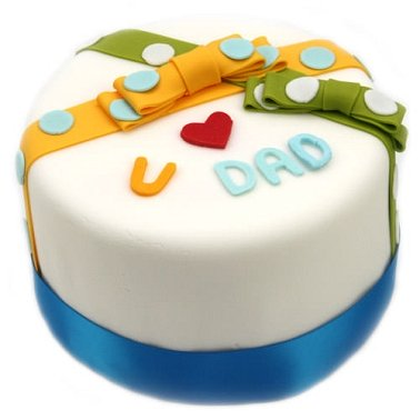 Love Dad Cake delivery UK