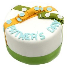 Bows and Dots Dad Cake delivery UK