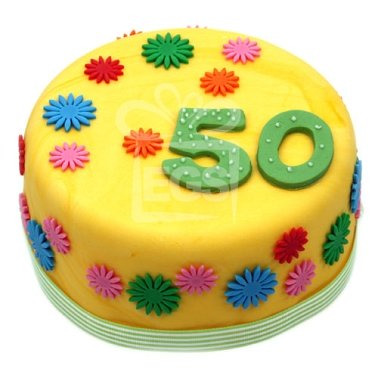 Buttercup Birthday cake delivery UK