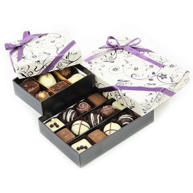 Two Tier Chocolate Sensation delivery to UK [United Kingdom]