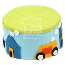 Racing Birthday Boy Cake delivery UK