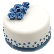 Blue Rose Cake delivery UK