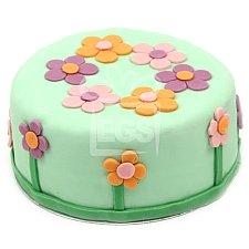 Peonies Birthday cake delivery UK