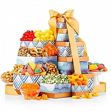 Exceptional Gourmet Gift Tower Delivery USA