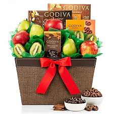 Premium Fruit and Godiva Chocolates Delivery USA
