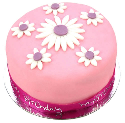 Daisy Celebration Cake delivery to UK [United Kingdom]