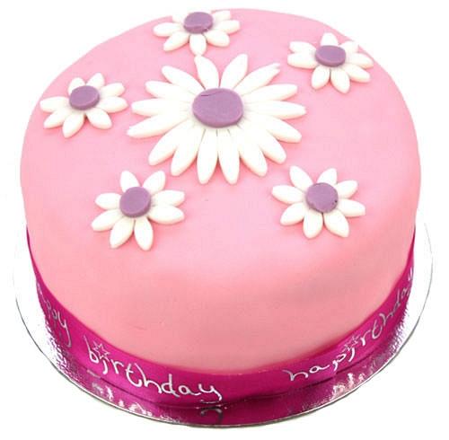 Daisy Celebration Cake delivery to UK [United Kingdom]