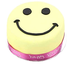 Smiley Celebration Cake For Girl delivery to UK [United Kingdom]