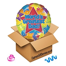 World Greatest Dad Balloon Delivery UK