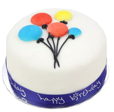 Birthday Balloons Cake delivery to UK [United Kingdom]
