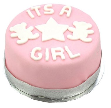 Egg Free Its a Girl Cake delivery to UK [United Kingdom]