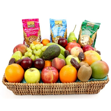 Fruit and Nut Basket delivery to UK [United Kingdom]