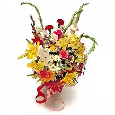 Presentation Bouquet delivery to Oman