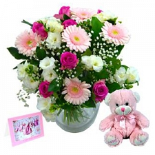 New Baby Girl Flowers delivery to UK [United Kingdom]
