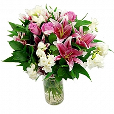 Cascade Bouquet Delivery to UK