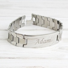Stainless Steel Mens Bracelet delivery to UK [United Kingdom]