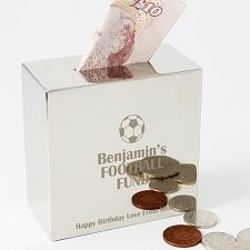 Football Square Money Box