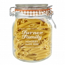 Small Hearts Glass Kilner Jar