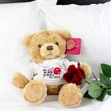Monster Heart Message Bear delivery to UK [United Kingdom]