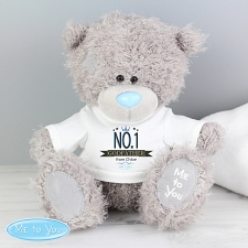 Personalised Me to You Bear with No.1 T-Shirt delivery to UK [United Kingdom]