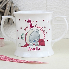 Personalised 1st Christmas Loving Mug