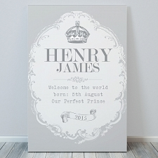Personalised Royal Crown Canvas UK [United Kingdom]