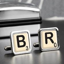 Initial and Age Cufflinks