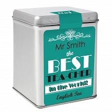 The Best Tea Slogan Tea and Tin