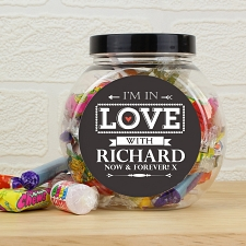 Personalised I'm In Love With Sweets UK [United Kingdom]