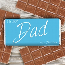 The Best Dad Chocolate Bar delivery to UK [United Kingdom]