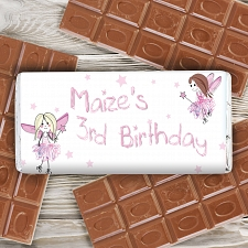 Personalised Fairy Milk Chocolates Bar