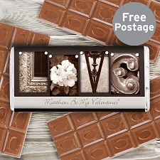 Affection Art Love Chocolate Bar delivery to UK [United Kingdom]