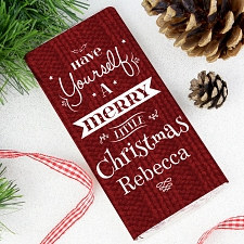 Have Yourself A Merry Little Christmas Chocolate Bar
