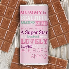 Personalised She Is... Milk Chocolates Bar