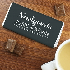 Personalised Classic Milk Chocolates Bar