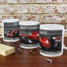 Personalised Formula 1 Mug