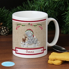 Personalised Me To You Reindeer Mug