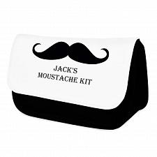 Moustache Wash Bag For Him