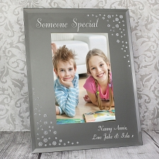 Personalised Any Message Portrait Photo Frame UK [United Kingdom]