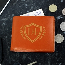 Brown Shield Wallet
