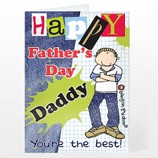 Bang On The Door Fathers Day Card