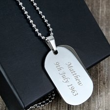 Stainless Steel Dog Necklace delivery to UK [United Kingdom]
