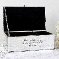 Mirrored Jewellery Box delivery to UK [United Kingdom]