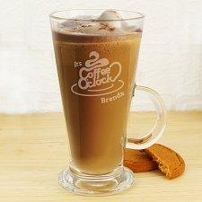 Coffee O Clock Latte Glass