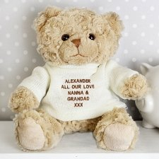 Tatty Teddy with Cream Jumper delivery to UK [United Kingdom]