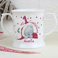 Personalised 1st Christmas Loving Mug