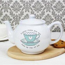 Vintage Tea Cup Teapot