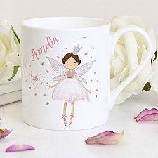 Personalised Fairy Princess Balmoral Mug Delivery to Uk
