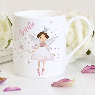 Personalised Fairy Princess Balmoral Mug Delivery to Uk