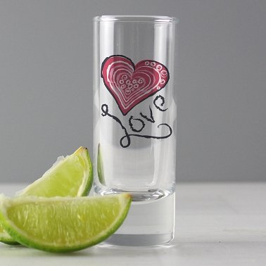 Love Shot Glass delivery to UK [United Kingdom]